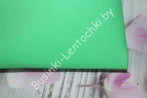 Фоамиран (171) светло-зелёный (0,8-1мм)