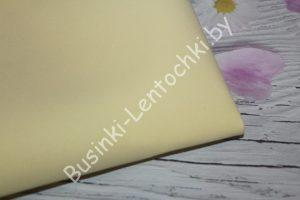 Фоамиран светло-жёлтый