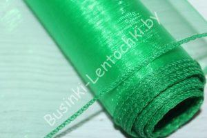 Органза (40см) флористическая зелёная