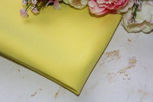 Фоамиран жёлтый