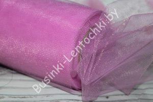 Фатин (15см) тёмно-розовый