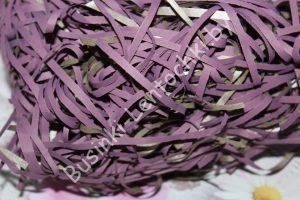 Стружка бумажная (50г) тёмно-фиолетовая