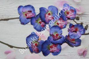 Мини-орхидея (43см) сине-фиолетовая