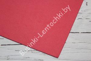 Фоамиран (2мм) красный (20×30см)