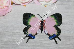 Бабочки (8см) розовые