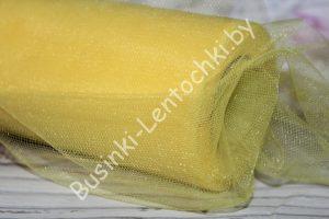 Фатин (15см) жёлтый