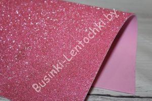 Фоамиран (2мм) глиттерный розовый