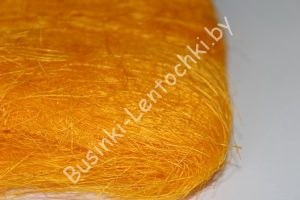 Сизалевое волокно светло-оранжевое