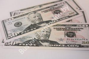 """Деньги сувенирные """"50 долларов"""""""