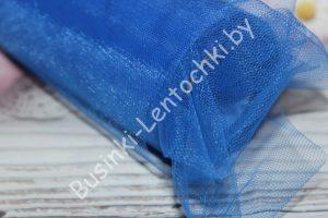 Фатин (15см) синий