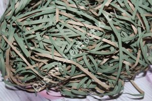 Стружка бумажная (50г) зелёная