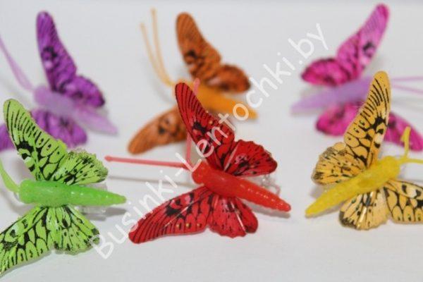 Бабочки (6см) на прищепке