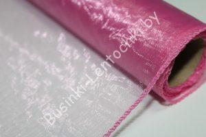 Органза (40см) флористическая тёмно-розовая