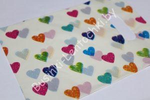 """Пакет """"разноцветные сердечки"""""""