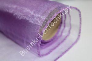 Органза (40см) флористическая фиолетовая