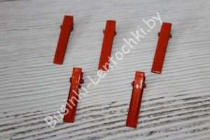 Основы плоские красные
