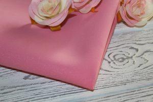 Фоамиран зефирный «Premium» розовый (255)