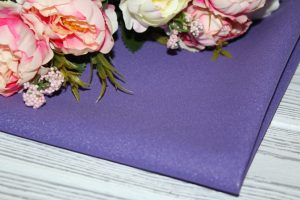 Фоамиран зефирный «Premium» тёмно-фиолетовый (197)