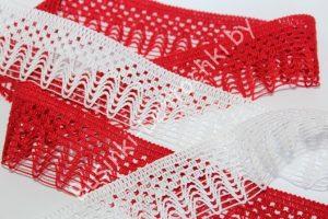 Кружево (4см) вязаное