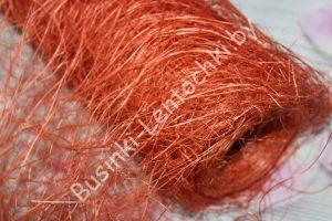 Сизалевое полотно (50см) темно-оранжевое