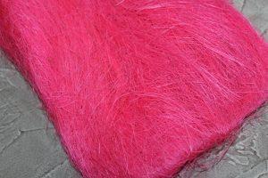 Сизалевое волокно ярко-розовое