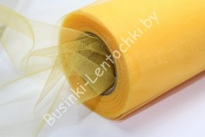 Фатин (15см) светло-оранжевый