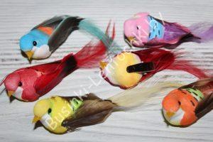Птички (8см) на прищепке
