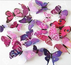Бабочки, птички, стрекозы