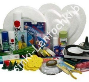 Инструменты, приспособления, упаковка, открытки