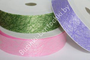 Ленты (3см) пластиковые с нитчатым рисунком