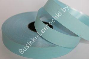 Лента (2,0см) полипропиленовая голубая