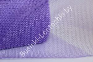 """Фатин (15см) """"крупная сетка"""" фиолетовый"""