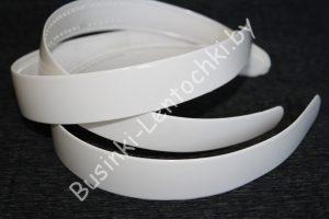 Обруч (1,5см) белый