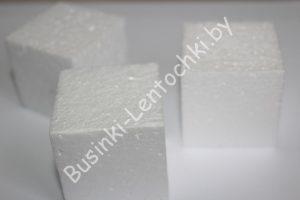 """Пенопластовая основа (4см) """"кубик"""""""
