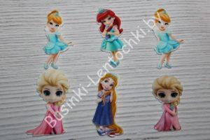 """Кабошоны """"принцессы маленькие"""""""