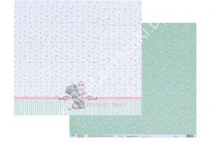 """Бумага двухсторонняя """"Маленькие радости"""" (30,5×30,5см)"""
