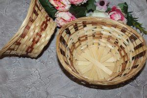 Корзинка (20×27см) плетёная