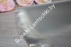 Плёнка (60×60см) для цветов прозрачная