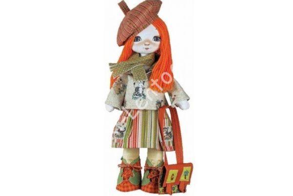 """Текстильная кукла """"путешественница"""""""