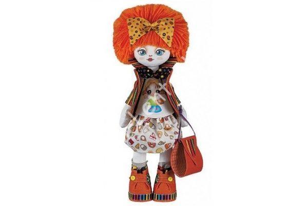 """Текстильная кукла """"подружка"""""""
