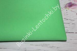 Фоамиран светло-зелёный