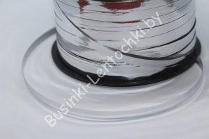 """Лента (0,5см) полипропиленовая """"серебро"""""""