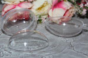 Яйцо (4×6см) прозрачное разъёмное