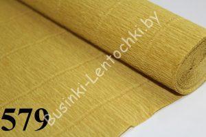 Бумага гофрированная цвет 579 светло-оливковая