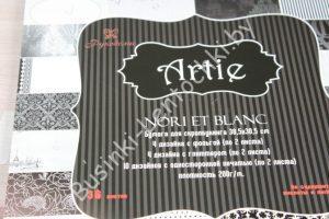 "Бумага односторонняя ""Artie Nori et Blanc"" (30,5×30,5см)"