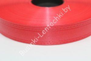 Лента (2см) бумажная красная