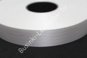 Лента (2см) бумажная белая