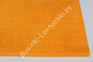 """Фетр (4мм) """"Блитц"""" оранжевый (22×30см)"""