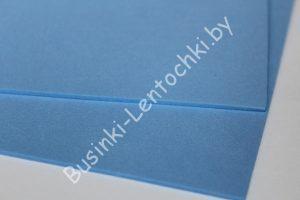 Фоамиран (2мм) светло-синий (20×30см)