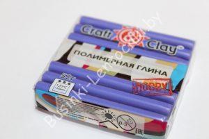 """Полимерная глина """"Craft"""" васильковый (52гр.)"""